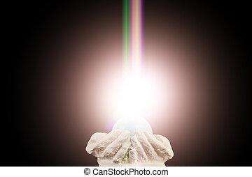 ライト, 霊歌, すくわれる 手