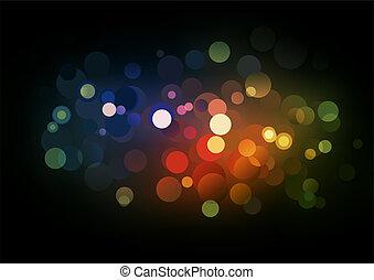 ライト, blurry