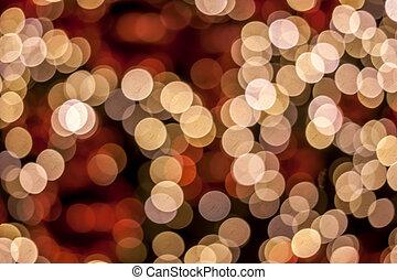 ライト, bokeh, 背景, お祝い