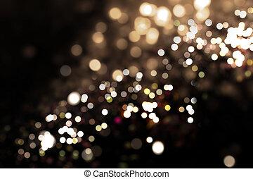 ライト, bokeh, 背景