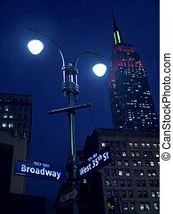 ライト, broadway