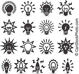 ライト, bulbs.