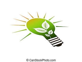 ライト, ico, 見通し, 電球