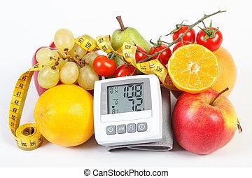 ライフスタイル, モニター, 血, 健康, 野菜, 圧力, 測定, 結果, 成果, センチメートル
