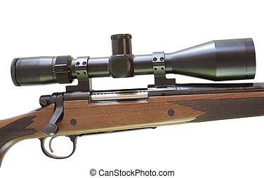 ライフル銃, そして, 範囲