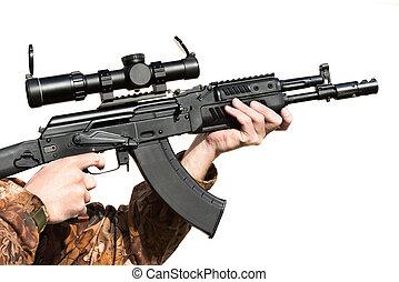 ライフル銃, 保有物, 人