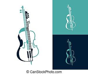 ライン, 構成, プレゼンテーション, 音楽, shapes., ベクトル, 作られた, performances., トリオ, 四つ組, チェロ, バイオリン, ミュージカル, 抽象的, シンボル, ギター, コンサート