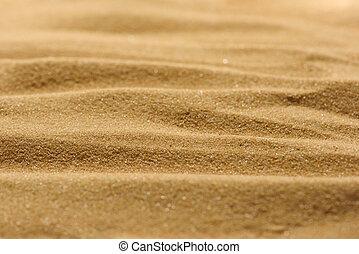 ライン, 砂, の, a, 浜