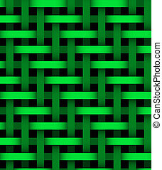ライン, 背景, 抽象的, 緑
