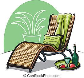 ラウンジ椅子