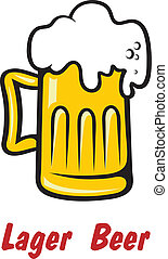 ラガービール, 金, ビール, 泡だらけ, ∥あるいは∥, パイント