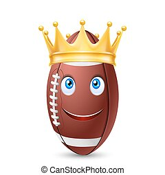 ラグビーボール, 金の王冠