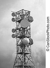 ラジオ, テレビ, 技術, 信号を送りなさい, シグナル, repeater