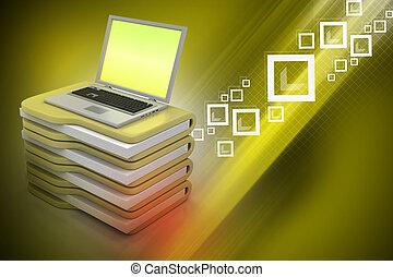 ラップトップ, ∥で∥, ファイルフォルダー