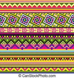 ラテンアメリカ人, パターン