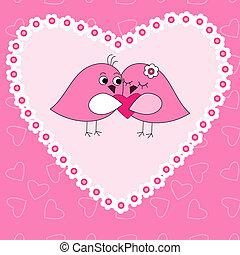 ラブ羽の鳥, カード