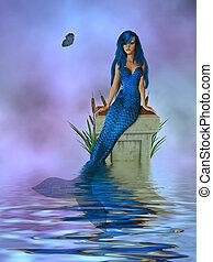 ラベンダー, mermaid