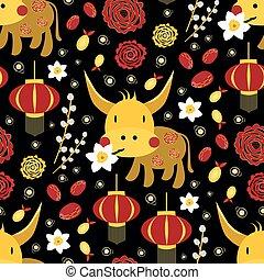 ランタン, スイセン, kawaii, 花, シャクヤク, かわいい, 幸運, willow., ベクトル, フルーツ, パターン, ねこちゃん, 年, 2021, 金, バックグラウンド。, カレンダー, pomelo, 新しい, 雄牛のウシ, ペーパー, 切口, 保有物, シンボル, seamless, 中国語