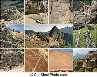 ランドマーク, コラージュ, ペルー