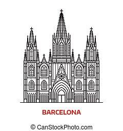 ランドマーク, 旅行, バルセロナ