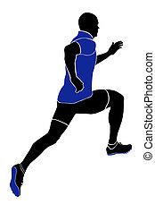 ランナー, スプリンター, 運動選手