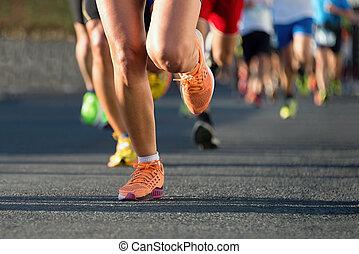 ランナー, マラソン