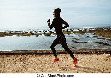 ランナー, 女, アウトドアのスポーツ, muslim