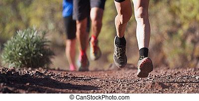 ランナー, 走って走りなさい, 道, 靴