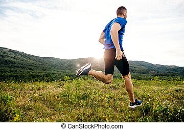 ランナー, 運動選手, 動くこと