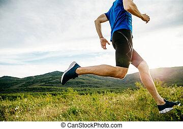 ランナー, 運動選手, 操業