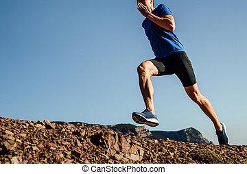 ランナー, 運動選手, 男性