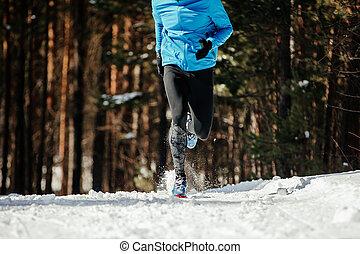 ランナー, 運動選手, 足
