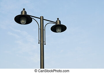 ランプの ポスト