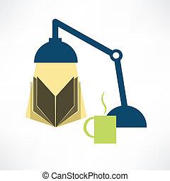 ランプ, 読む本