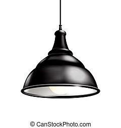 ランプ, 黒