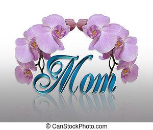 ラン, ∥ために∥, お母さん, 上に, 母の日