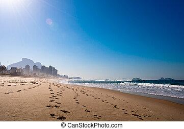 リオ, 浜, barra