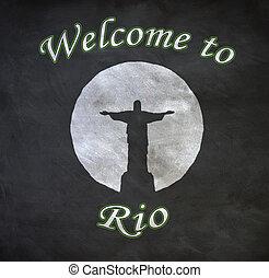 リオ, de, 歓迎, janeiro
