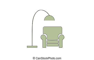 リクライニング・チェア, ランプ