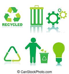 リサイクルしなさい, アイコン
