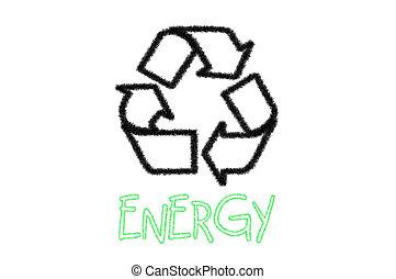 リサイクルしなさい, エネルギー, 印