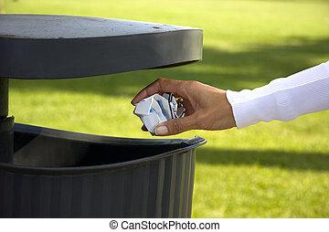 リサイクルしなさい