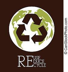リサイクルしなさい, デザイン
