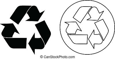 リサイクルしなさい, ベクトル, 印