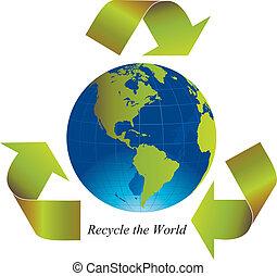 リサイクルしなさい, 世界