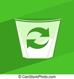 リサイクルしなさい, 想像力が豊かである, シンボル