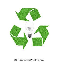 リサイクルしなさい, lightbulb