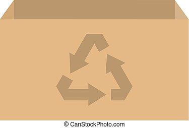 リサイクルの箱, ベクトル
