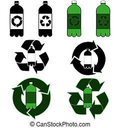 リサイクル, びん