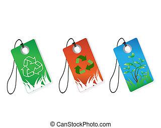 リサイクル, タグ